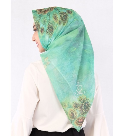 Hijab Blooming Sunflower