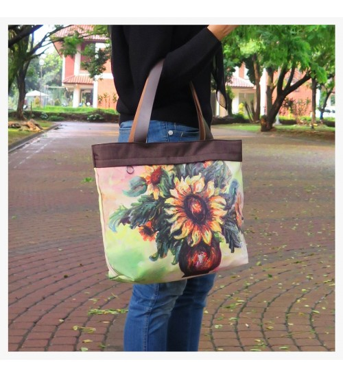 Tote Bag Sunflower
