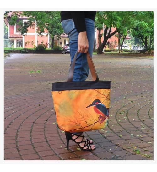 Tote Bag The Bird