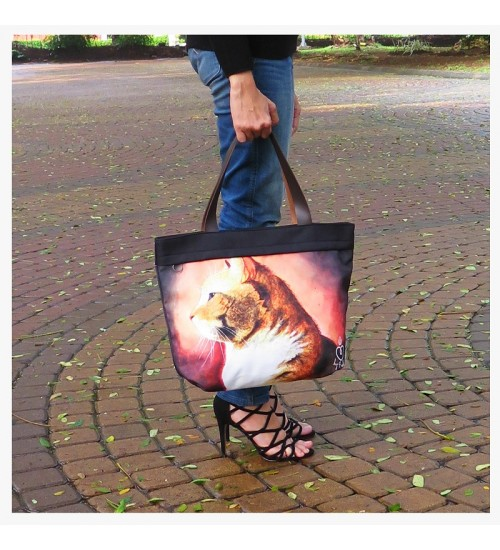 Tote Bag The Cat